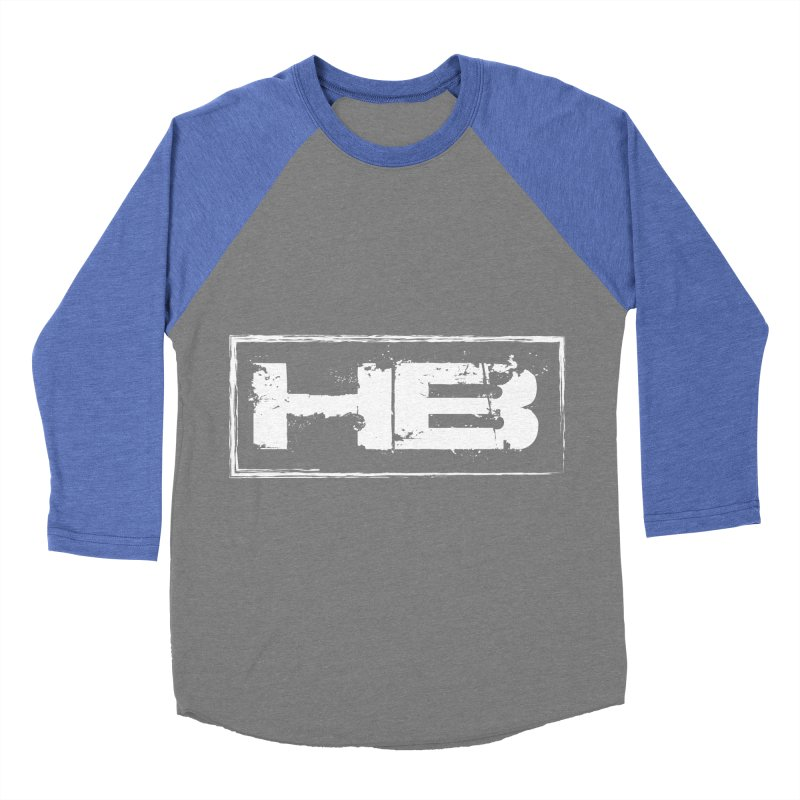 HB logo Women's Baseball Triblend Longsleeve T-Shirt by heavybrush's Artist Shop