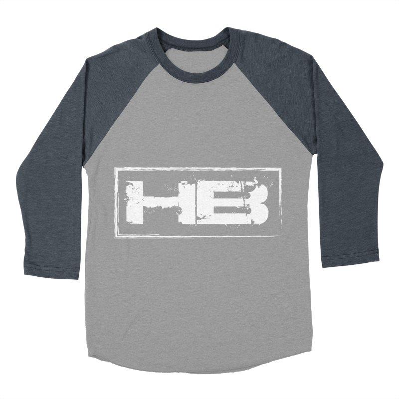 HB logo Women's Baseball Triblend Longsleeve T-Shirt by heavybrush's Artist Shop