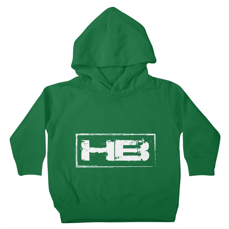 HB logo Kids Toddler Pullover Hoody by heavybrush's Artist Shop