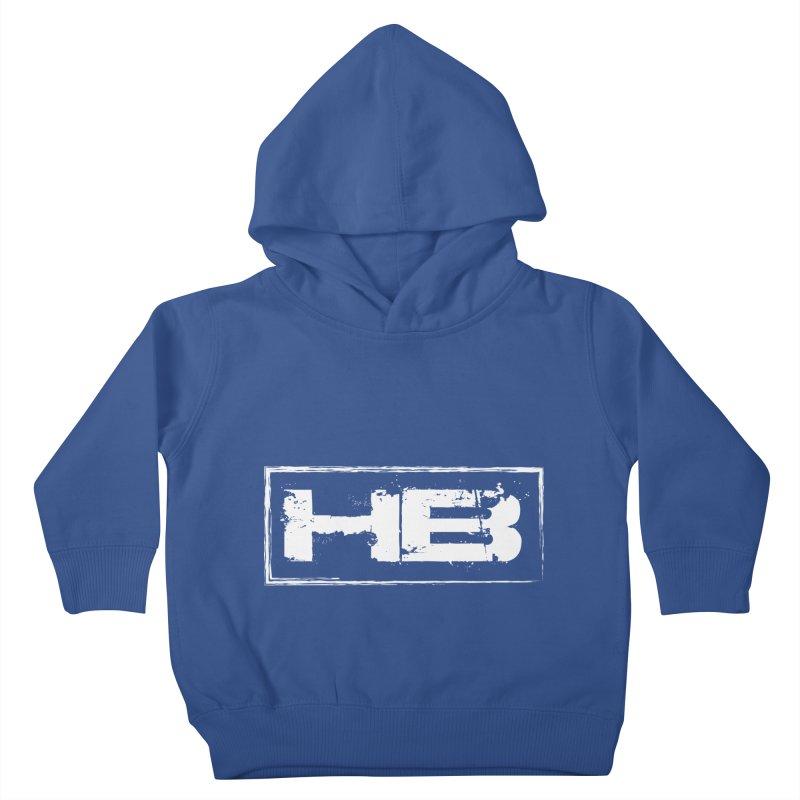HB logo Kids Toddler Pullover Hoody by heavybrush's Artist Shop