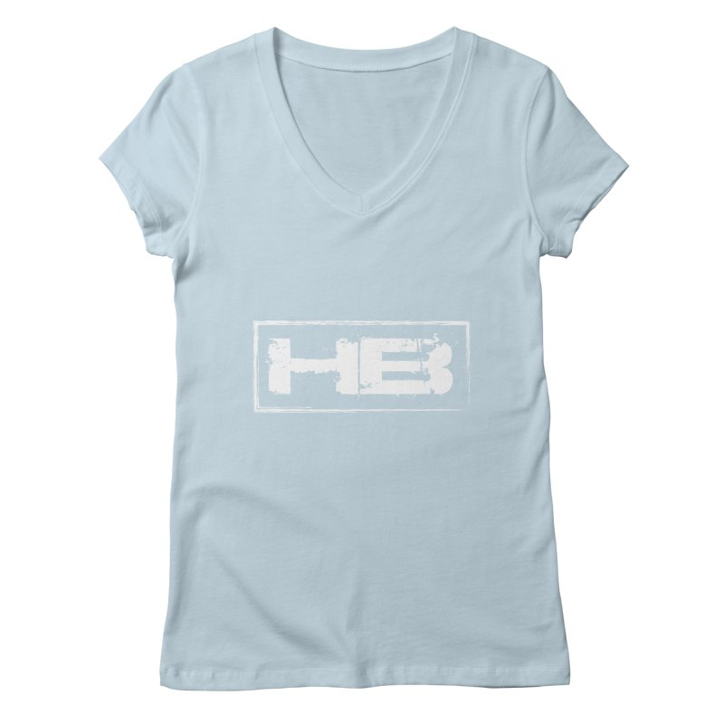 HB logo Women's Regular V-Neck by heavybrush's Artist Shop