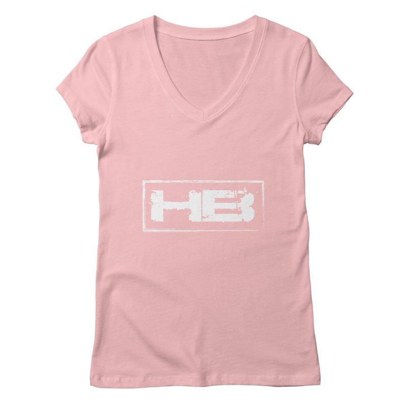 HB logo Women's Regular V-Neck by heavybrush's Artist Shop