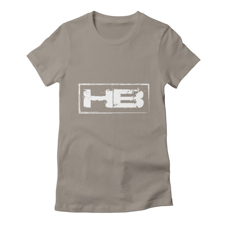 HB logo Women's Fitted T-Shirt by heavybrush's Artist Shop