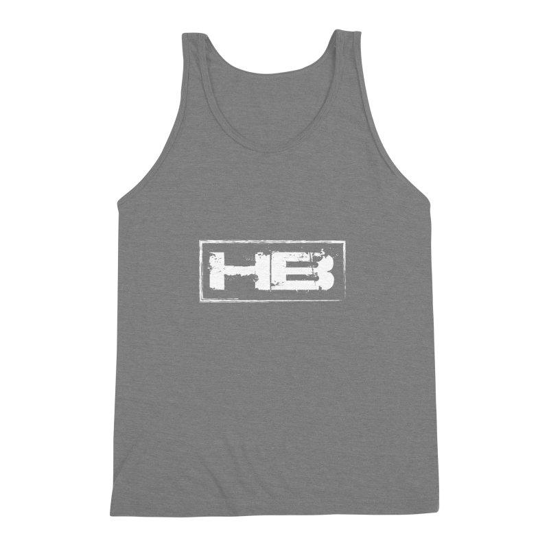 HB logo Men's Triblend Tank by heavybrush's Artist Shop