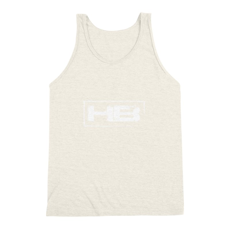 HB logo Men's Triblend Tank by heavybrush's Artist Shop