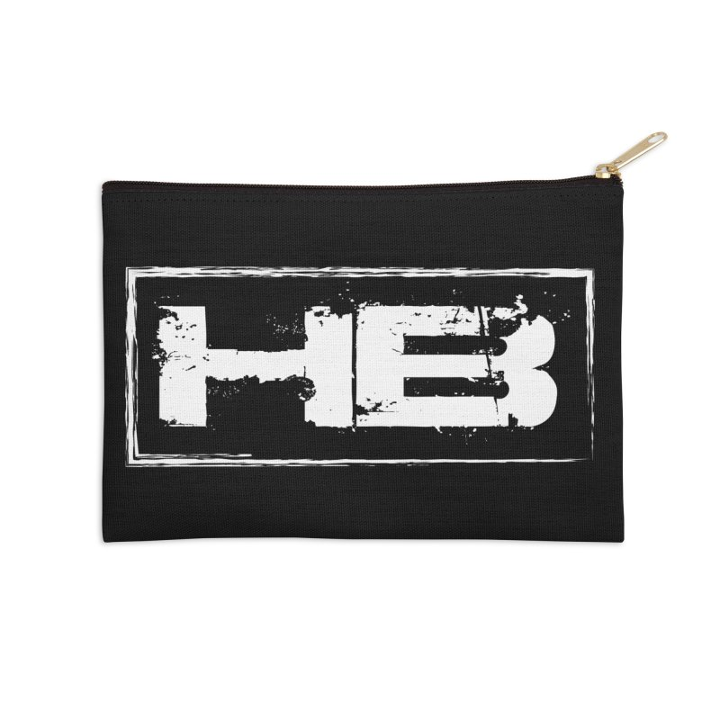 HB logo Accessories Zip Pouch by heavybrush's Artist Shop