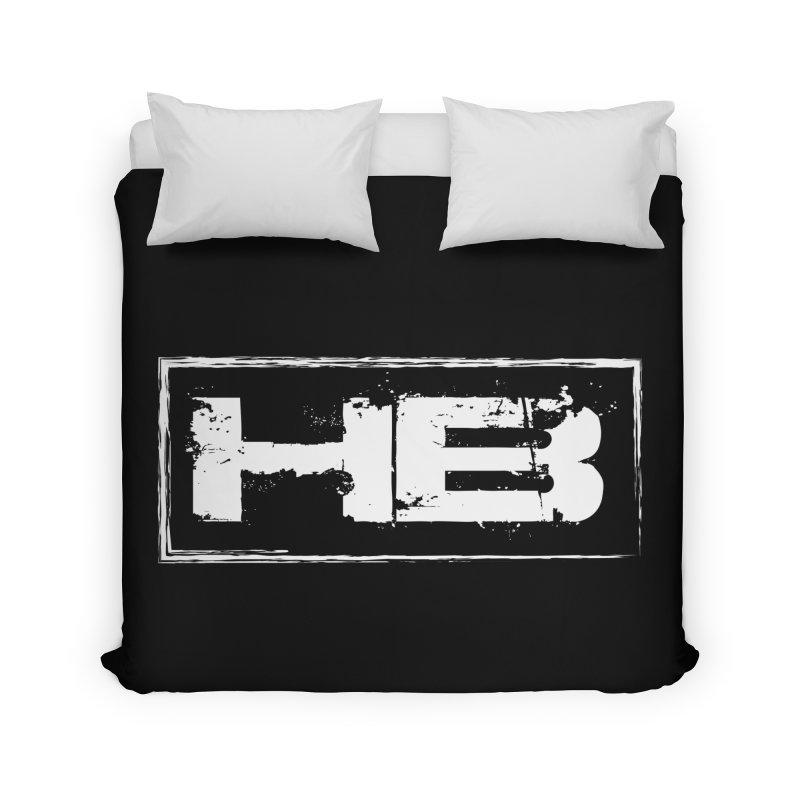 HB logo Home Duvet by heavybrush's Artist Shop