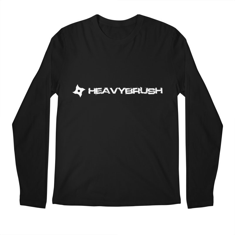 Heavybrush Men's Regular Longsleeve T-Shirt by heavybrush's Artist Shop
