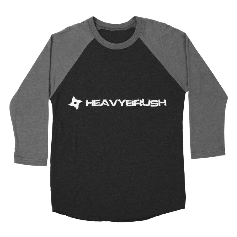 Heavybrush Men's Baseball Triblend Longsleeve T-Shirt by heavybrush's Artist Shop