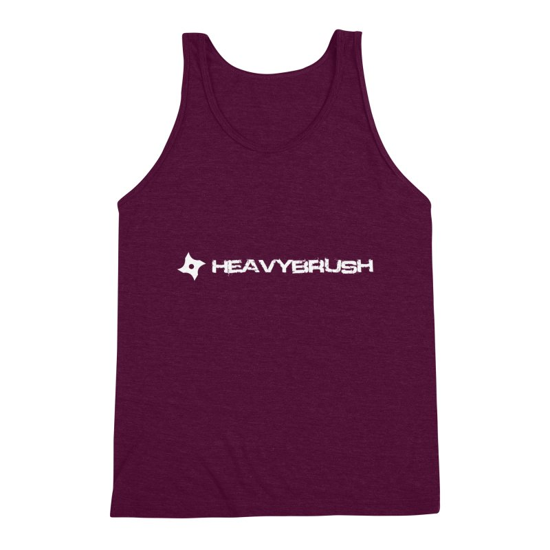 Heavybrush Men's Triblend Tank by heavybrush's Artist Shop