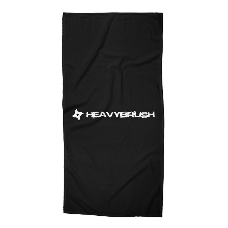 Heavybrush Accessories Beach Towel by heavybrush's Artist Shop
