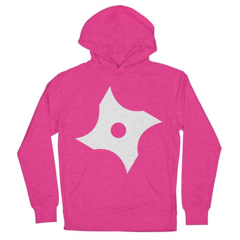 Heavybrush ninja star Men's French Terry Pullover Hoody by heavybrush's Artist Shop