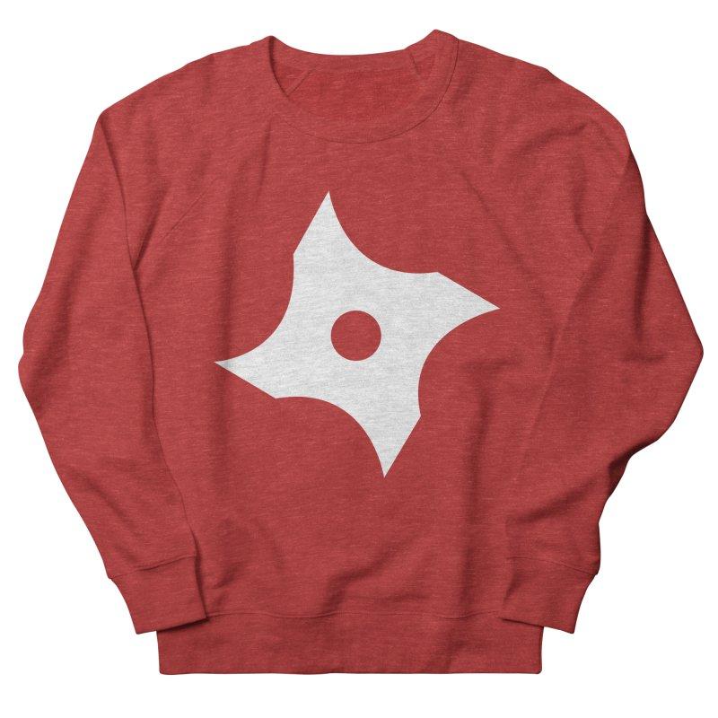 Heavybrush ninja star Women's French Terry Sweatshirt by heavybrush's Artist Shop