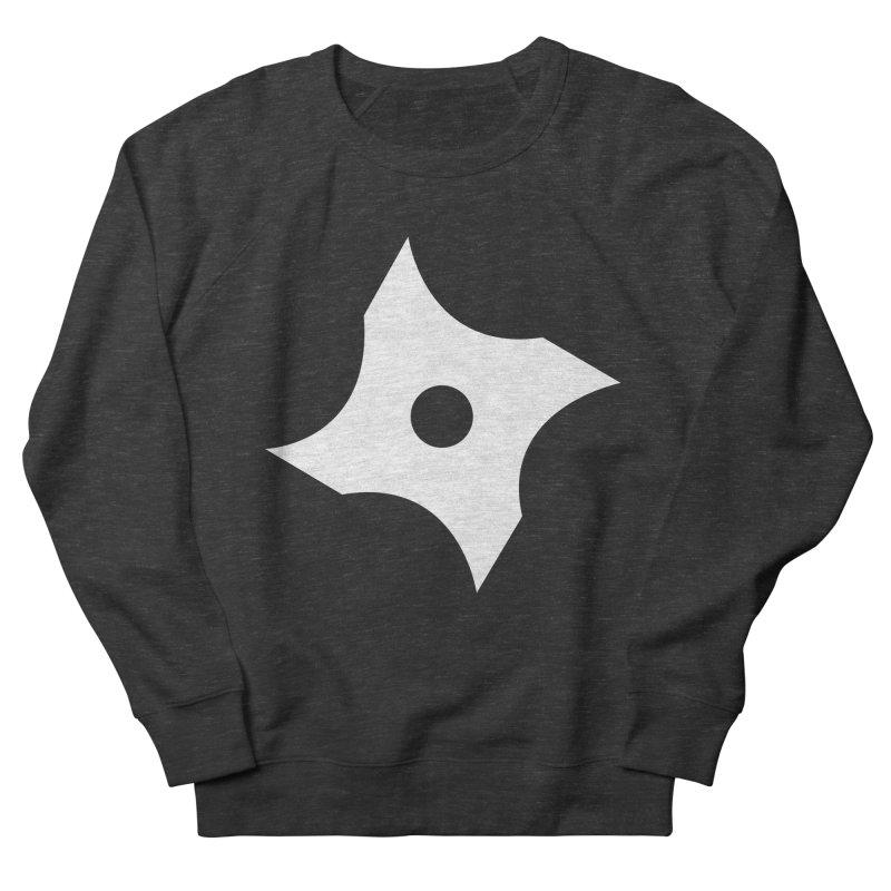 Heavybrush ninja star Men's French Terry Sweatshirt by heavybrush's Artist Shop
