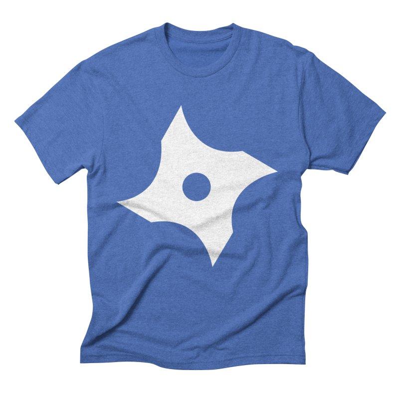 Heavybrush ninja star Men's Triblend T-Shirt by heavybrush's Artist Shop