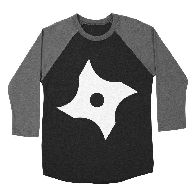 Heavybrush ninja star Women's Baseball Triblend Longsleeve T-Shirt by heavybrush's Artist Shop
