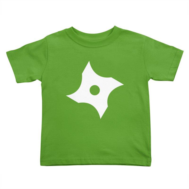 Heavybrush ninja star Kids Toddler T-Shirt by heavybrush's Artist Shop