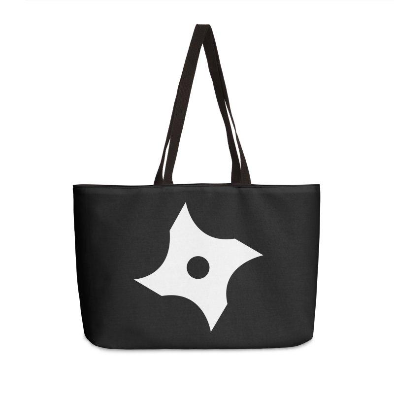 Heavybrush ninja star Accessories Weekender Bag Bag by heavybrush's Artist Shop