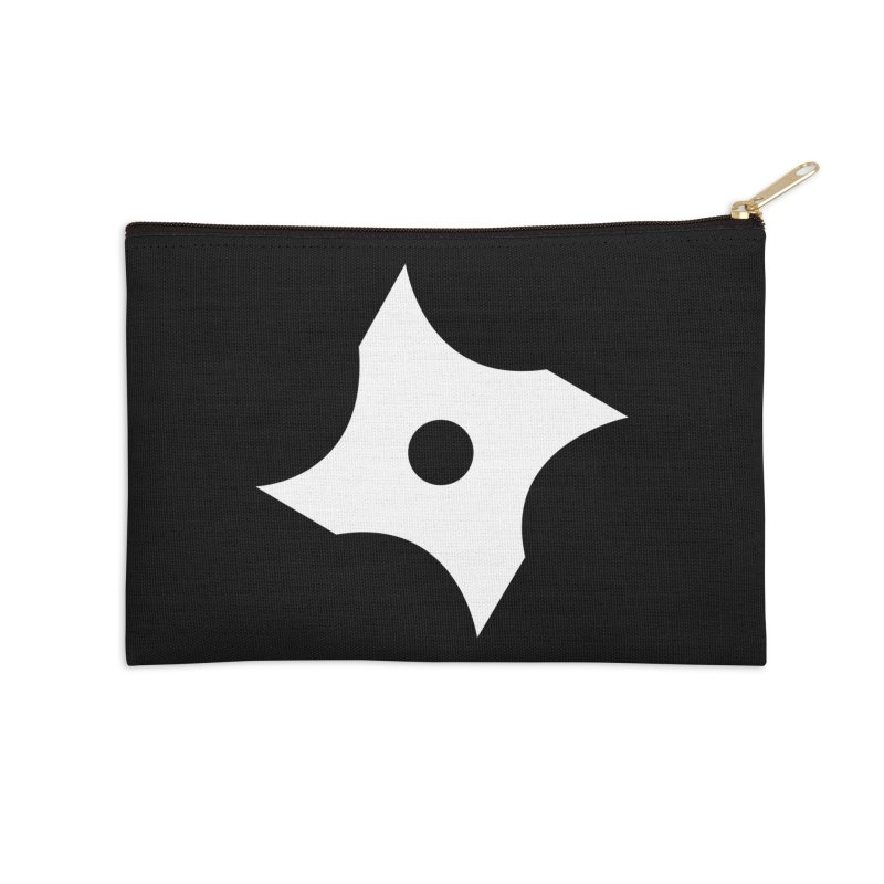 Heavybrush ninja star Accessories Zip Pouch by heavybrush's Artist Shop
