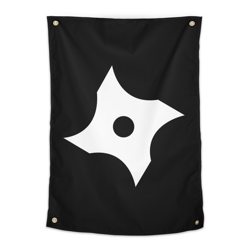 Heavybrush ninja star Home Tapestry by heavybrush's Artist Shop