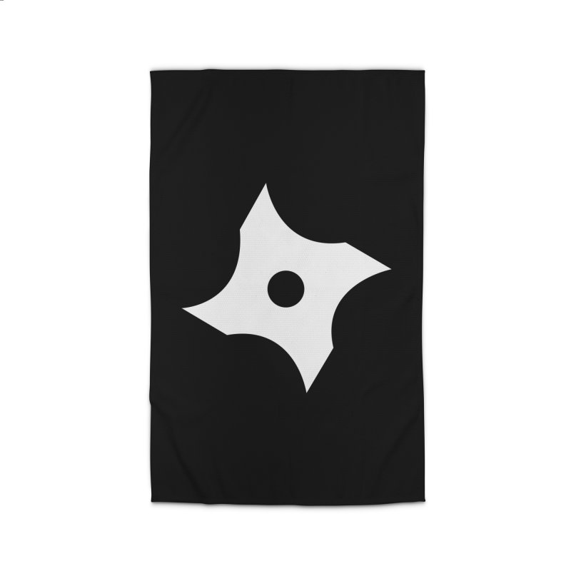 Heavybrush ninja star Home Rug by heavybrush's Artist Shop