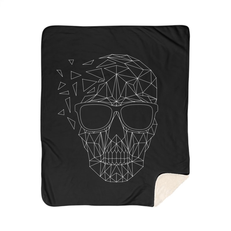 Skull-icious Home Sherpa Blanket Blanket by heavyhand's Artist Shop