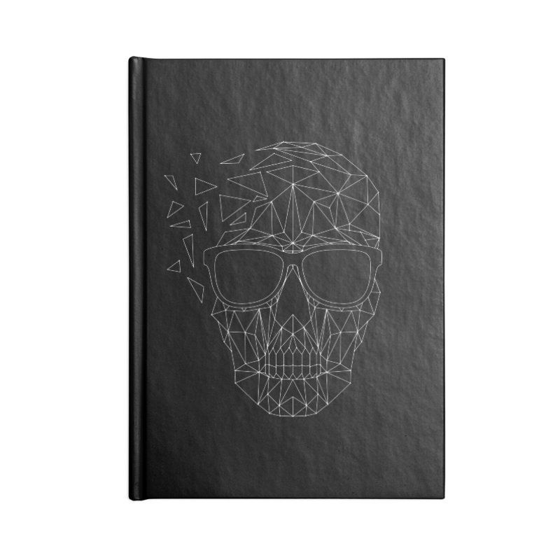 Skull-icious Accessories Lined Journal Notebook by heavyhand's Artist Shop