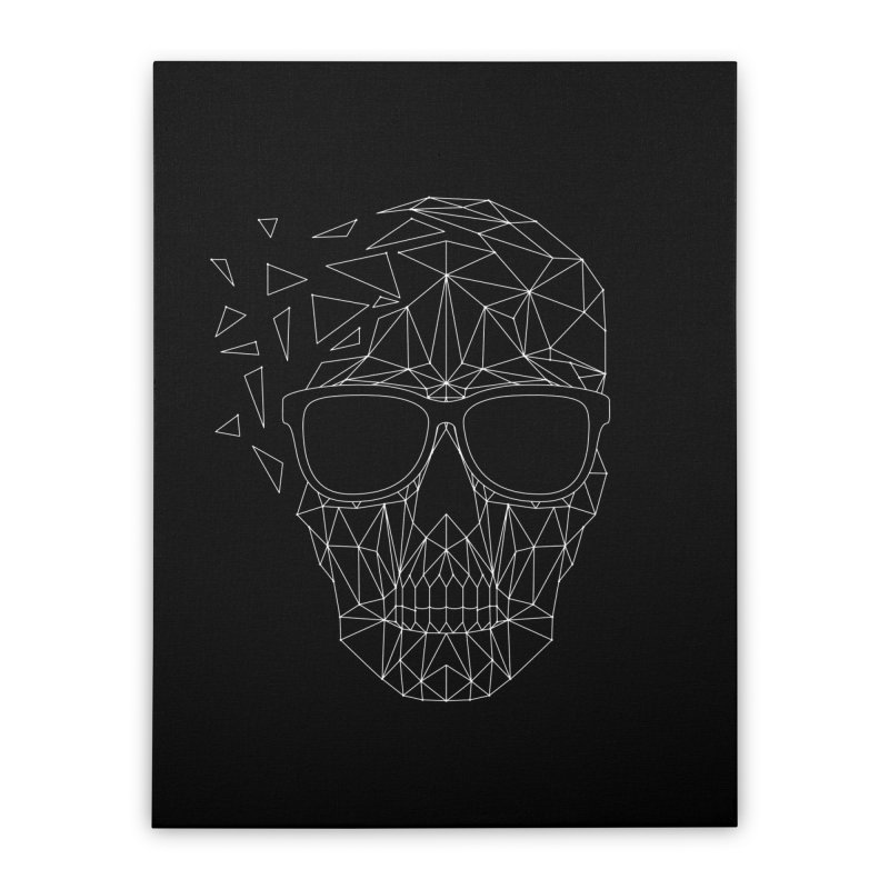 Skull-icious Home Stretched Canvas by heavyhand's Artist Shop