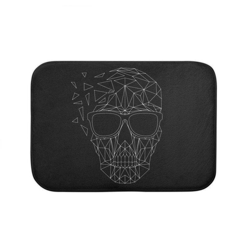 Skull-icious Home Bath Mat by heavyhand's Artist Shop