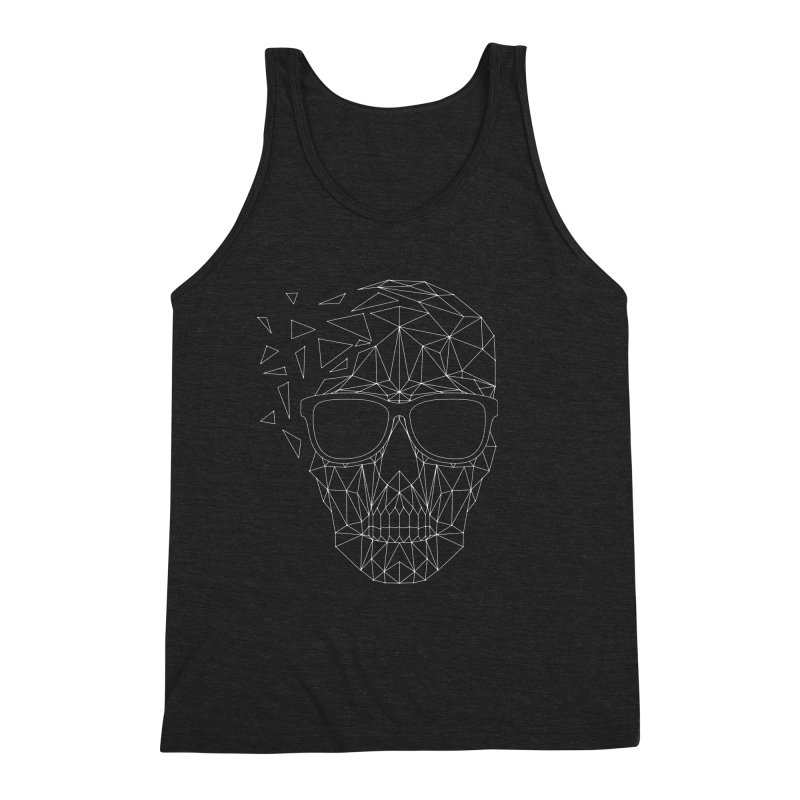 Skull-icious Men's Triblend Tank by heavyhand's Artist Shop