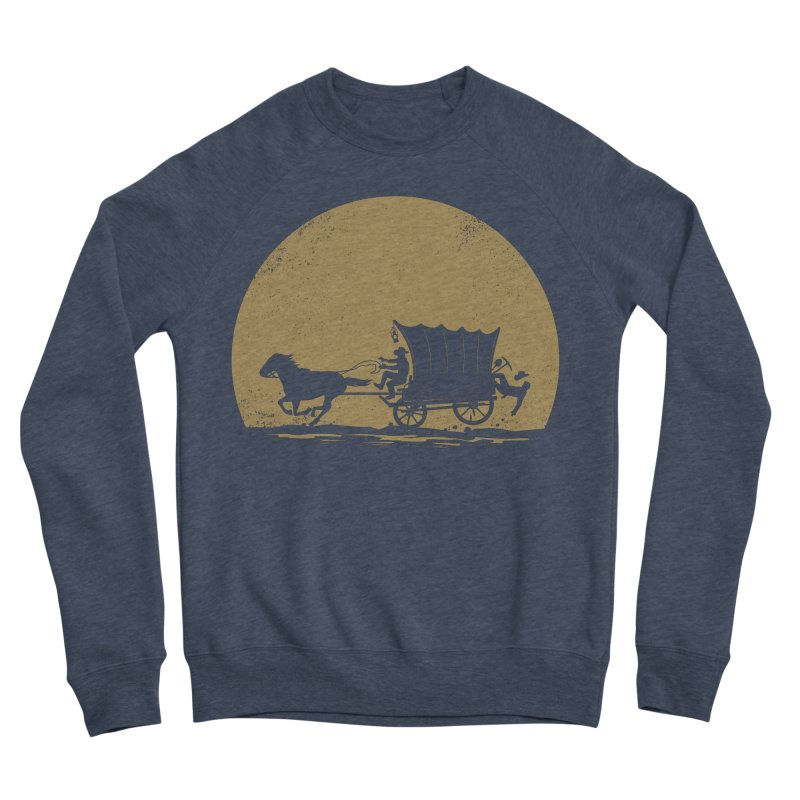 Gold Rush Men's Sponge Fleece Sweatshirt by heavyhand's Artist Shop