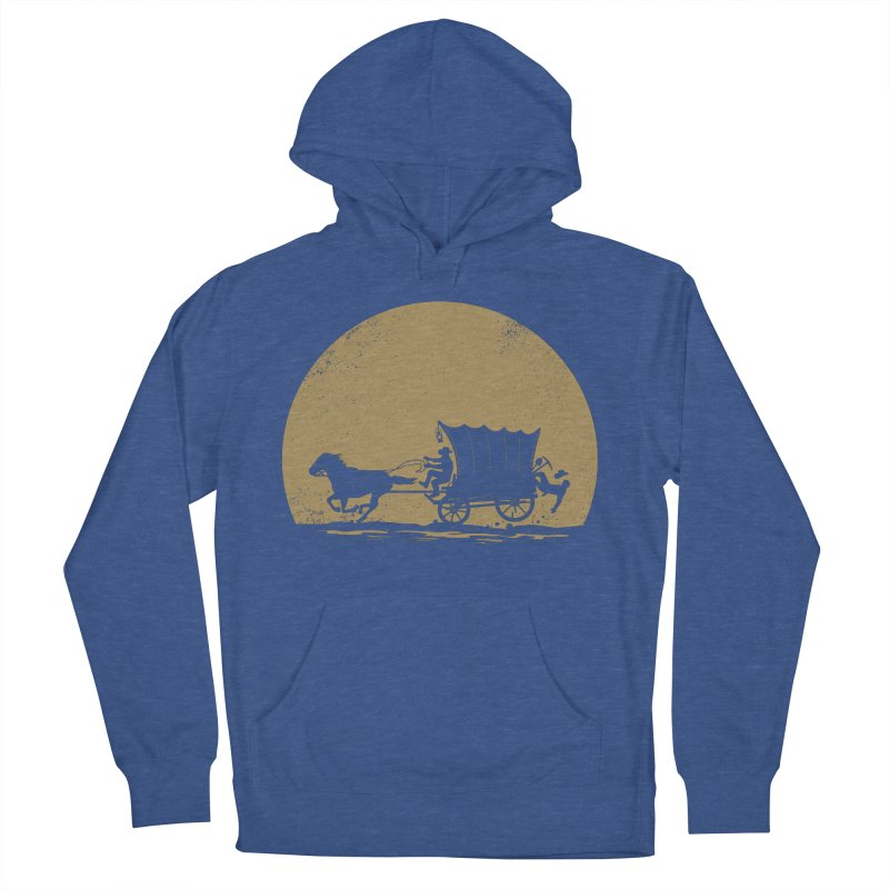 Gold Rush Men's French Terry Pullover Hoody by heavyhand's Artist Shop