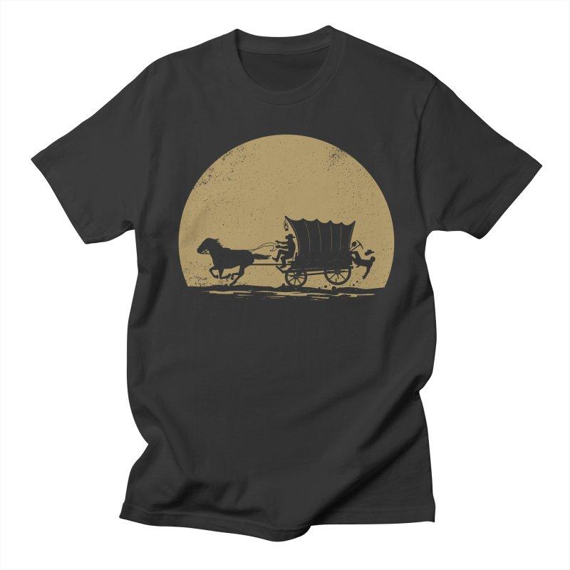Gold Rush Men's Regular T-Shirt by heavyhand's Artist Shop