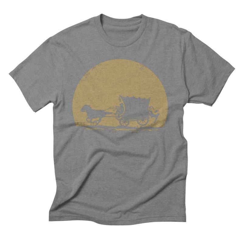 Gold Rush Men's Triblend T-Shirt by heavyhand's Artist Shop