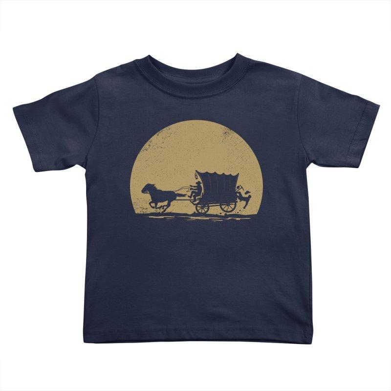 Gold Rush Kids Toddler T-Shirt by heavyhand's Artist Shop
