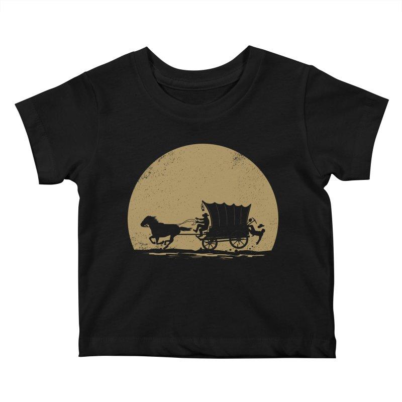 Gold Rush Kids Baby T-Shirt by heavyhand's Artist Shop