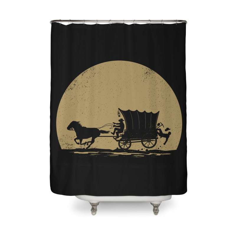 Gold Rush Home Shower Curtain by heavyhand's Artist Shop