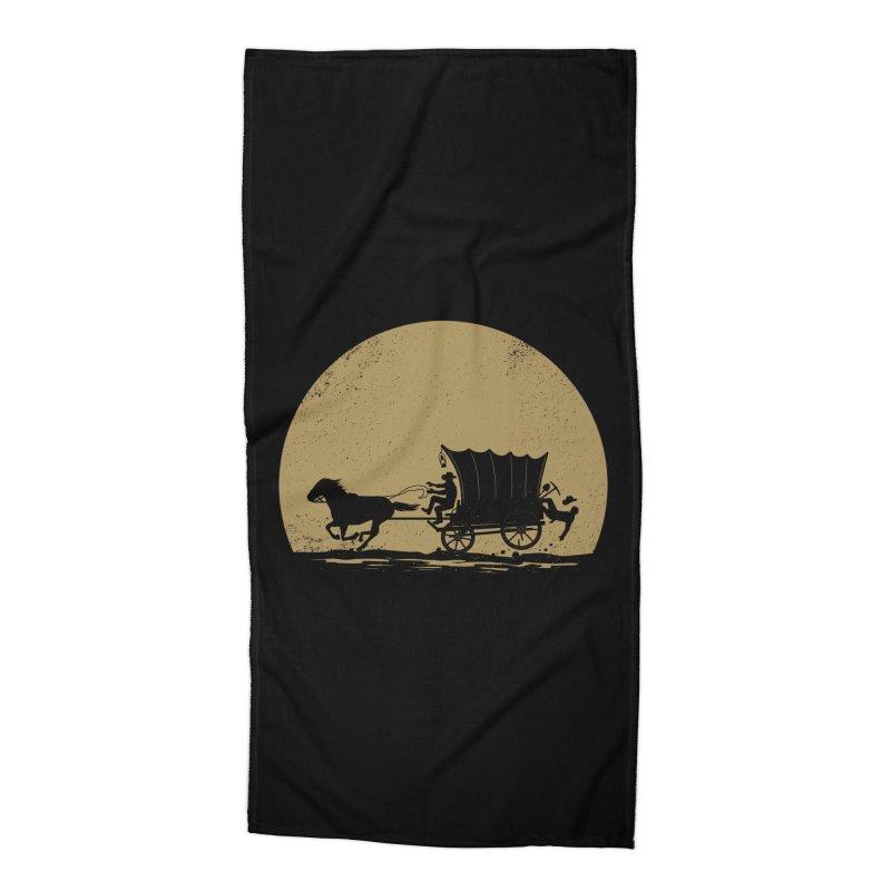 Gold Rush Accessories Beach Towel by heavyhand's Artist Shop
