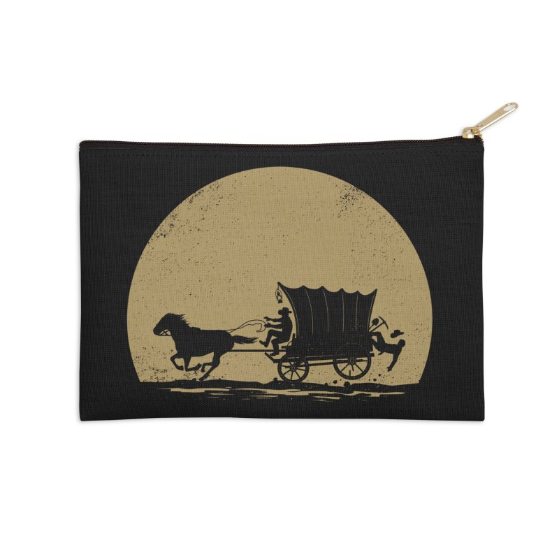 Gold Rush Accessories Zip Pouch by heavyhand's Artist Shop