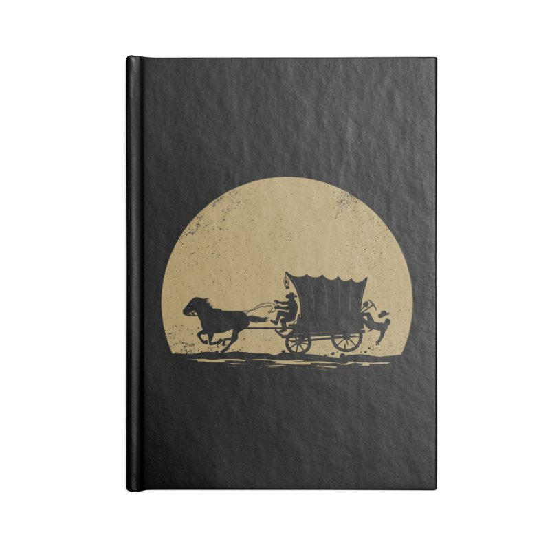 Gold Rush Accessories Lined Journal Notebook by heavyhand's Artist Shop