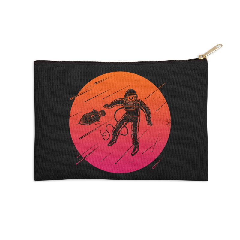 Meteoric Fate Accessories Zip Pouch by heavyhand's Artist Shop
