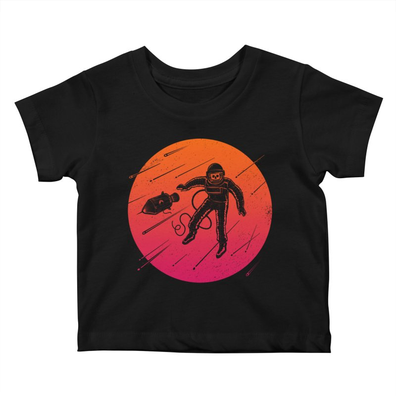 Meteoric Fate Kids Baby T-Shirt by heavyhand's Artist Shop