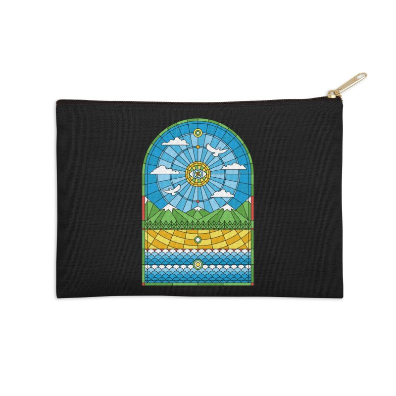 Church of Mother Nature Accessories Zip Pouch by heavyhand's Artist Shop