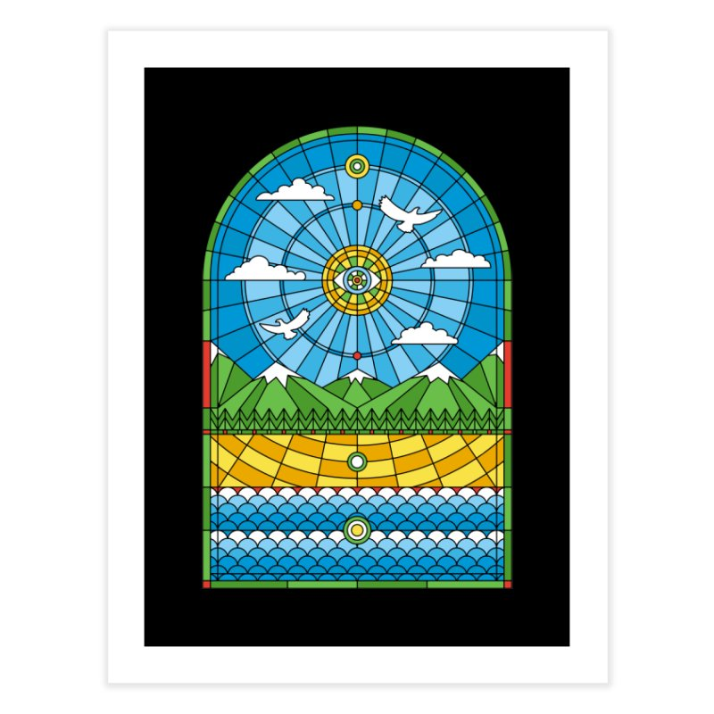 Church of Mother Nature Home Fine Art Print by heavyhand's Artist Shop