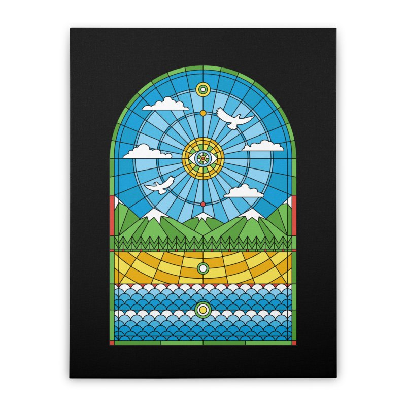 Church of Mother Nature Home Stretched Canvas by heavyhand's Artist Shop