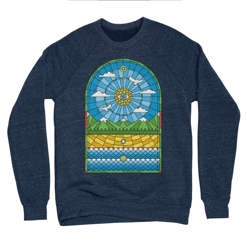 Church of Mother Nature Men's Sponge Fleece Sweatshirt by heavyhand's Artist Shop