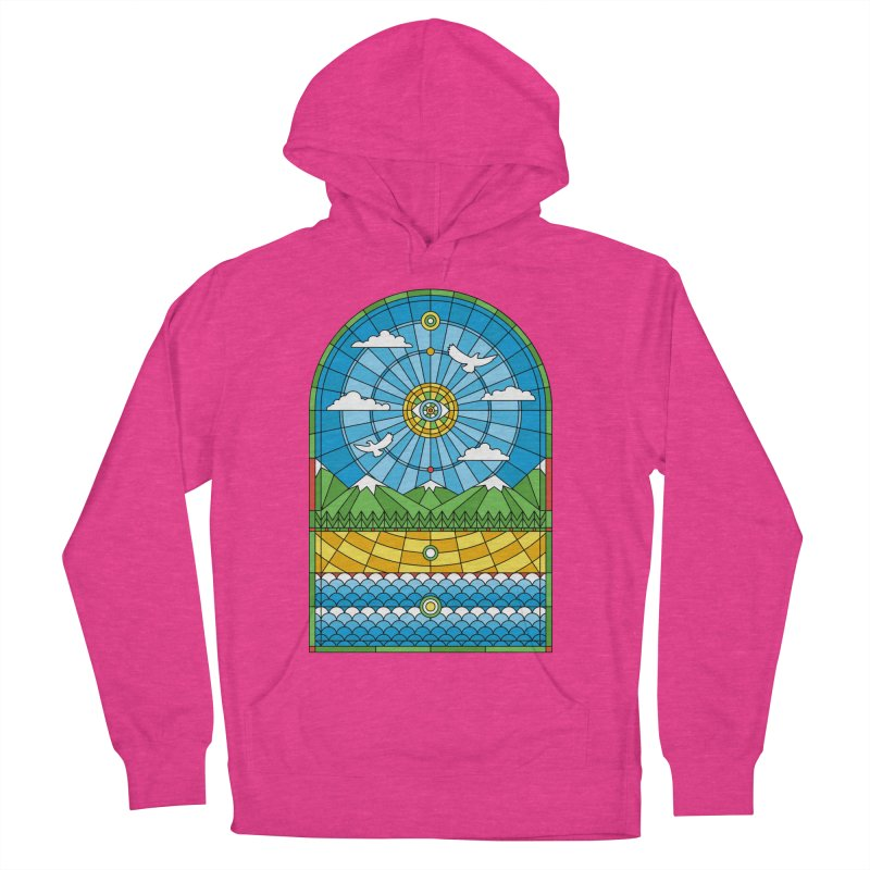 Church of Mother Nature Men's French Terry Pullover Hoody by heavyhand's Artist Shop