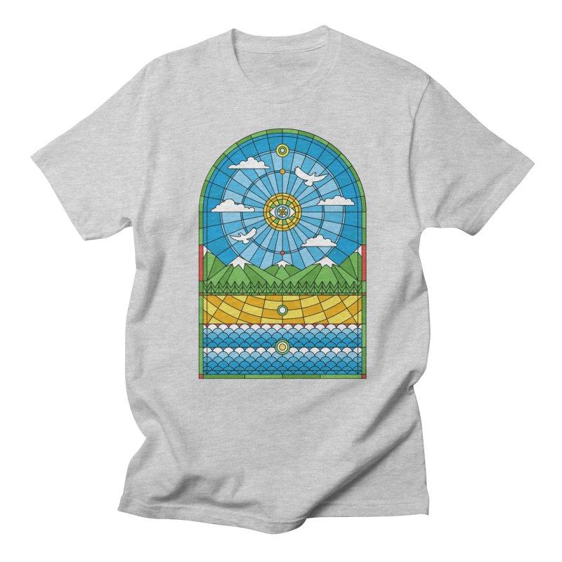 Church of Mother Nature Men's Regular T-Shirt by heavyhand's Artist Shop