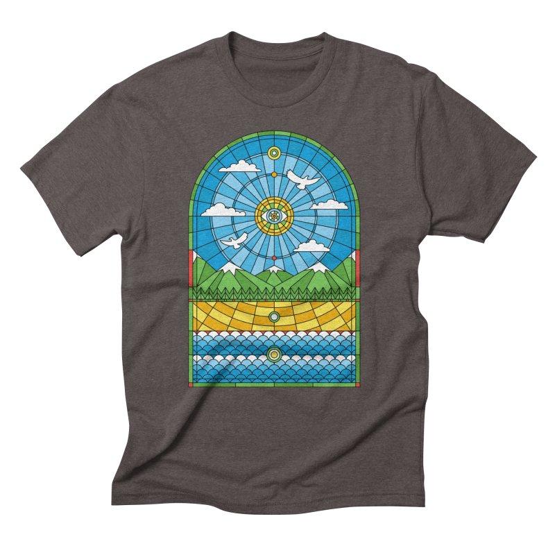Church of Mother Nature Men's Triblend T-Shirt by heavyhand's Artist Shop
