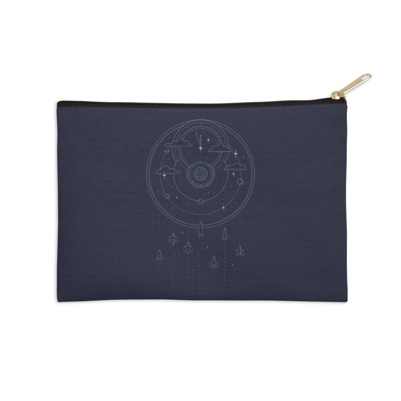 Mission through Time and Space Accessories Zip Pouch by heavyhand's Artist Shop